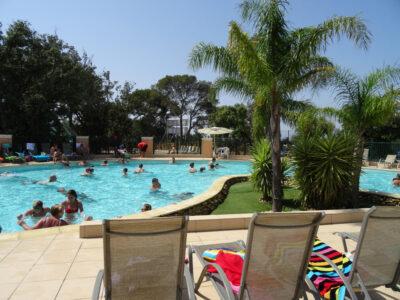 Toulon verwarmd zwembad Vakantie ontspanning