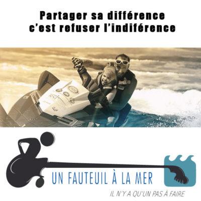 Onze partner: de organisatie 'Un fauteuil à la mer'