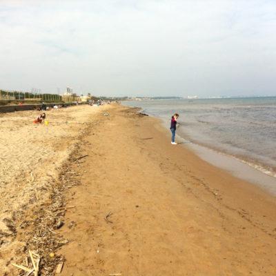 Het strand van La Bergerie