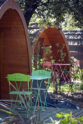 Groene familie camping aan de Côte d'Azur