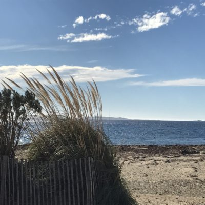 Het strand van Miramar