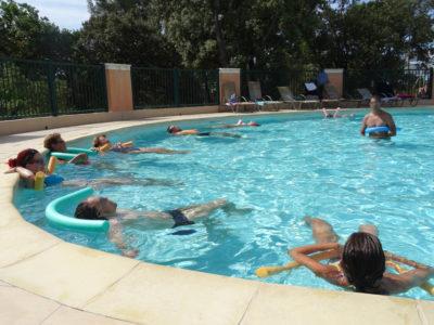 Bormes-les-Mimosas Holidays zwembad Waterpark aquagym onder vrienden