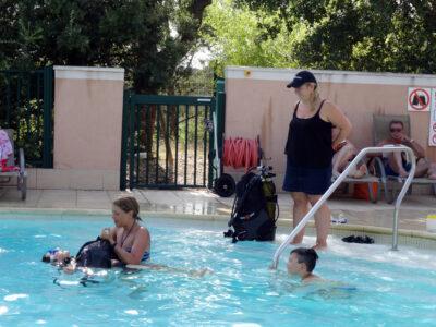 Verwarmd zwembad Duiken Doop Holidays