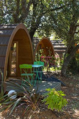 Goedkope camping bijzondere vakantie pods