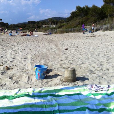 Het strand van Cabasson
