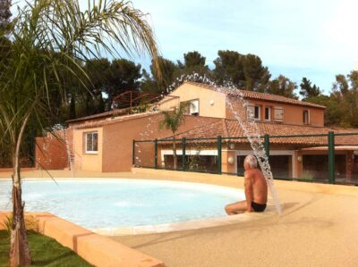 Verwarmd zwembad Waterpark Spa