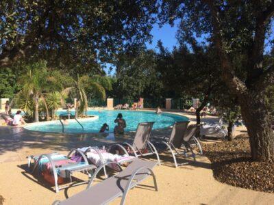Camping verwarmde zwembaden Watersportgebied familievakanties