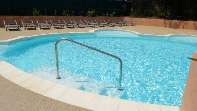Hyères stranden verwarmde zwembaden kinderbad Aquatic complex