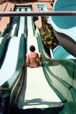 Familie vakanties water park verwarmd zwembad