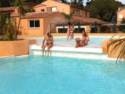 Hyères Watersport ontspanning Vakantie verwarmd zwembad