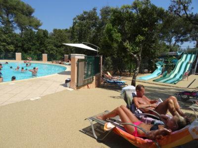 Camping French Riviera waterpark verwarmde zwembaden Transat ontspanning Feestdagen