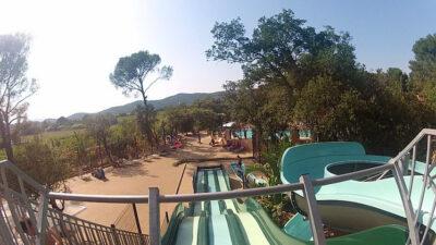 Camping Waterglijbaan Waterspelletjes verwarmde zwembaden familie vakanties
