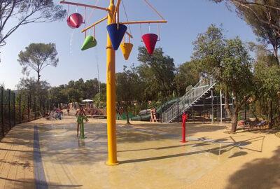 Camping Waterpark Waterspel glijbanen Kindervakantie familie