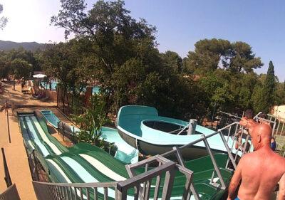 Camping Var Waterglijbaan waterspelletjes verwarmd zwembad