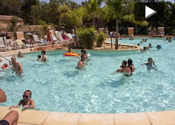 Camping Lavandou verwarmde zwembaden familie vakanties