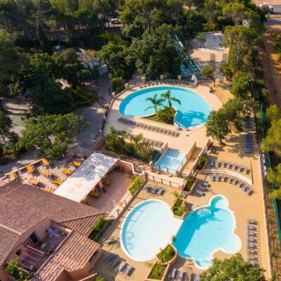 Watercomplex verwarmd zwembad Vakantie