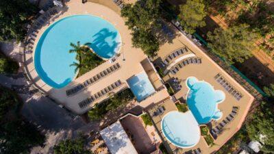 Hyères stranden verwarmd zwembad Aquatic complex