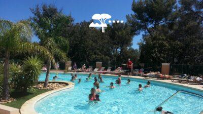 Verwarmd zwembad La-Londe-les-Maures Animatie aquagym Holidays
