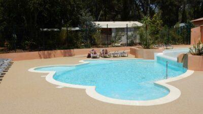Camping Hyères verwarmd zwembad Zen Relaxation Spa Solarium zonneweide