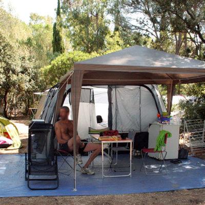 Staanplaatsen 'Privilège XXL'  - tenten, caravans & campers