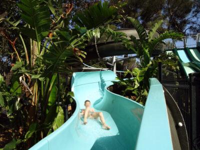 Waterpark Waterglijbaan waterspelletjes Kindervakanties