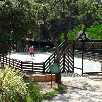 Camping met sportactiviteiten in Hyères.