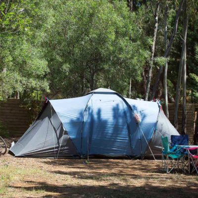 Kleine caravans, campers - Staanplaatsen Confort Small