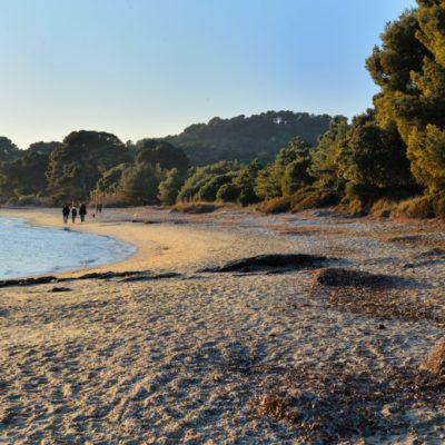 Het strand van Pellegrin