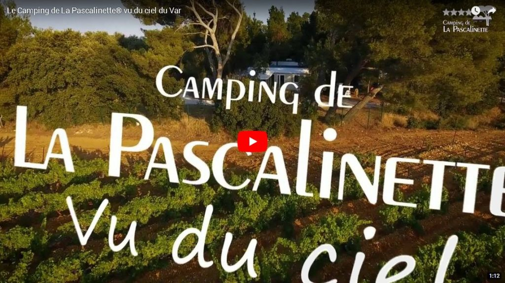 Camping Var La Londe vu du ciel