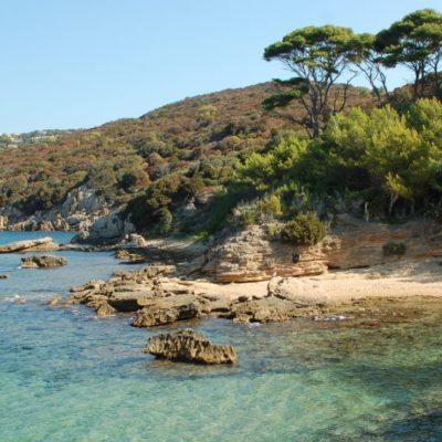 Het eiland Le Levant