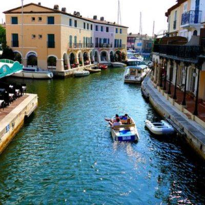 Port Grimaud :het Venetië van de Provence