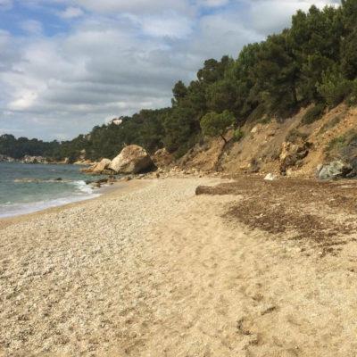 Het strand van 'Monaco' (Pradet)