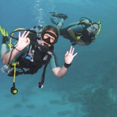 De onderwaterroute van Le Pradet