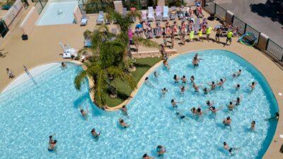 Lavandou verwarmde zwembaden zwemmen ontspannen vakantie