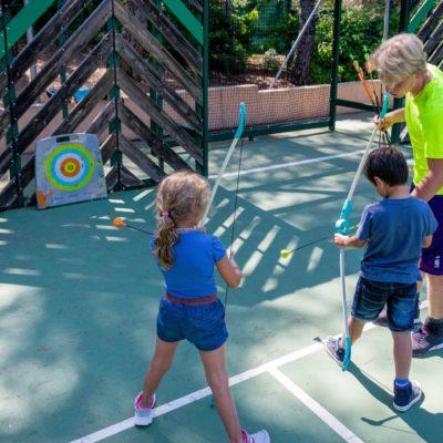 Camping met amusement en activiteiten voor kinderen
