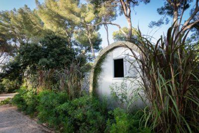 Camping aan de kust Provence zon natuur