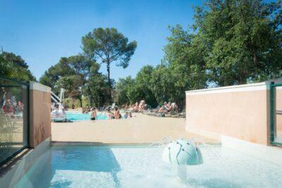 Zuid-Frankrijk verwarmd zwembad verwarmd kinderbad Kindervakanties