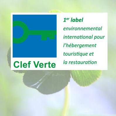 Label Clef Verte (Green Key) een camping voor duurzame toerisme in Hyères