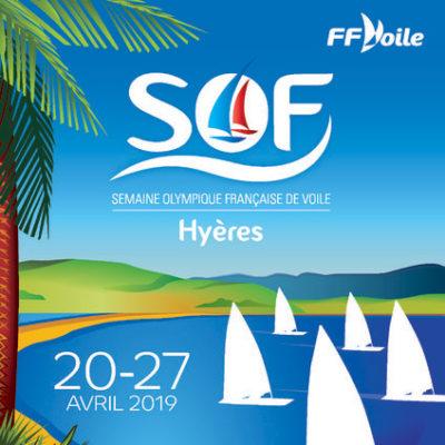 De SOF (semaine olympique française = de Franse Olympische Week) in Hyères-les-Palmiers