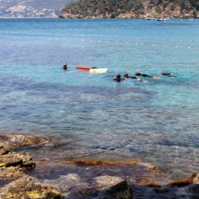 Het onderwaterparcours van Le Rayol
