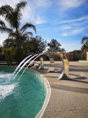Hyères Beach verwarmd zwembad Massage douche ontspanning Vakantie