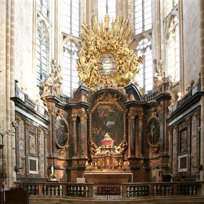 De basiliek van St Maximin/la Ste Baume
