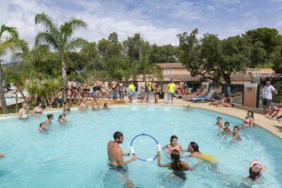 Camping La-Londe-les-Maures Aquatic gebied zwembad gezinsactiviteiten