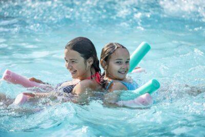 Camping La-Londe-les-Maures zwembaden familie Vakanties ontspanning