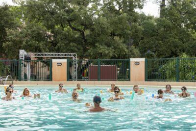 Verwarmd zwembad zwembaden aquagym Sport Holidays