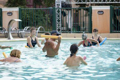 Franse Rivièra zwembad aquagym Holidays Sport Animatie