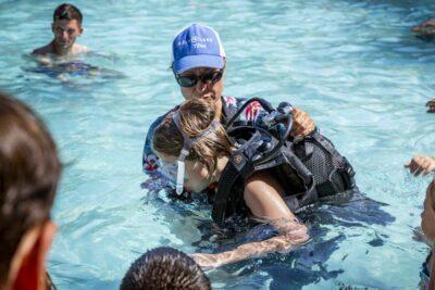 Bormes-les-Mimosas verwarmd zwembad Duiken doop ontspanning Vakantie