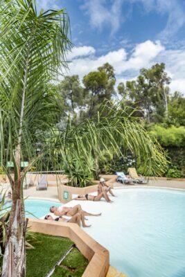 Camping zwembad Spa Jacuzzi kinderzwembad