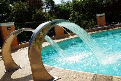 Camping Hyères zwembad Solarium kinderzwembad