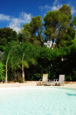Ten zuiden van Frankrijk Waterpark verwarmd zwembad Zon ontspanning